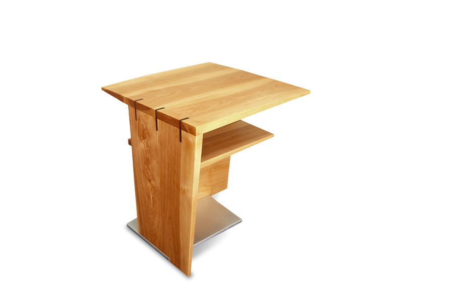 hovering end table city joinery