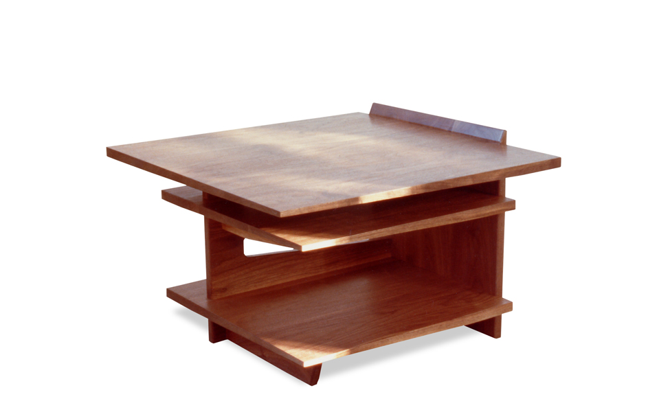 Wooden Side Table : Wood End Table Joinery