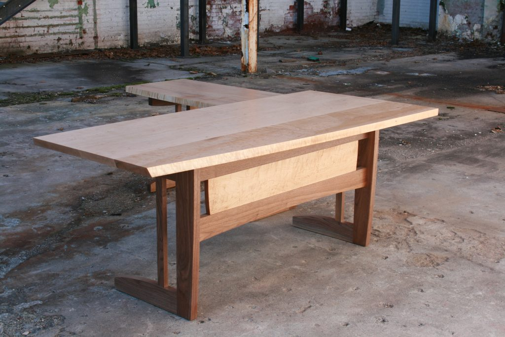 Birdseye Maple Desk
