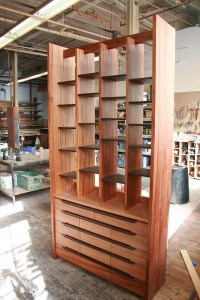 Another office piece in Sapele and Wenge, gone to the Upper West Side.