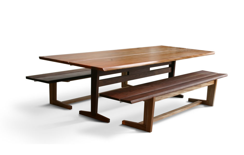 Tremendous Trestle Dining Table With Benches Table Design Ideas Forskolin Free Trial Chair Design Images Forskolin Free Trialorg